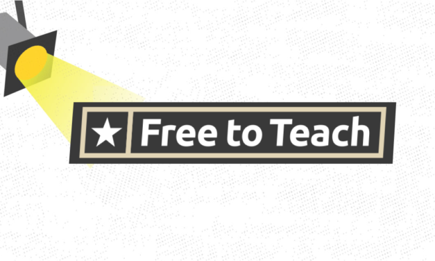 Spotlight on Free To Teach and Keith Williams