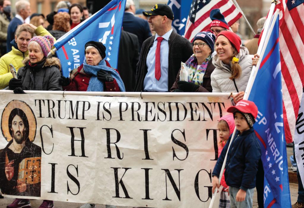Doug Mastriano at Pro Trump Rally before January 6 Insurrection
