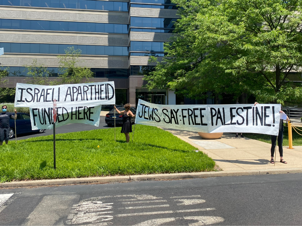 Jewish Voices for Peace Protest