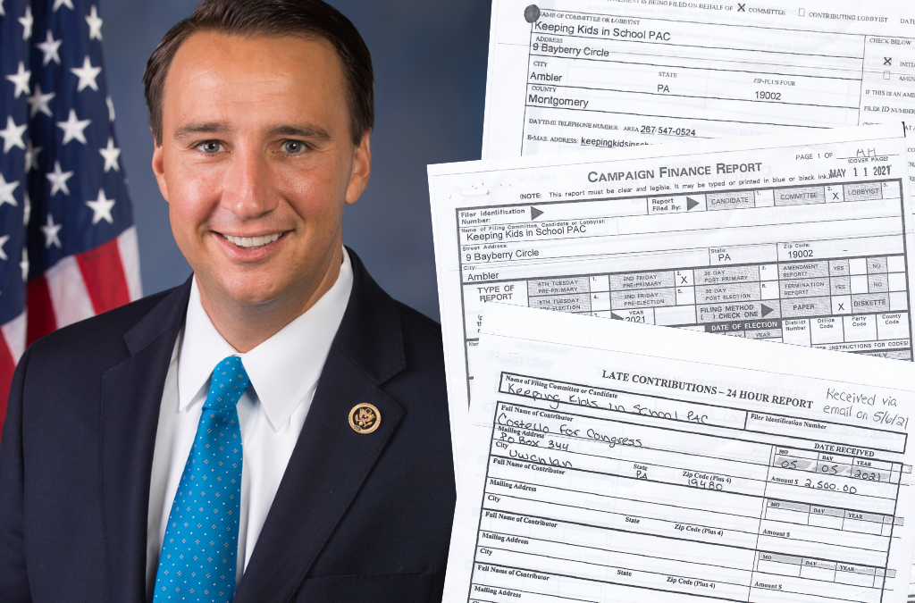 Former Congressman Ryan Costello and Paul Martino Biggest Donors to PAC Supporting QAnon School Board Candidates